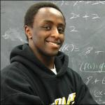 Ian Gacheru was one of the first St. Olaf students to benefit from a NSF supported S-STEM scholarship.
