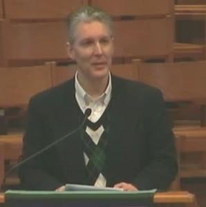 St. Olaf Associate Archivist, Jeff Sauve