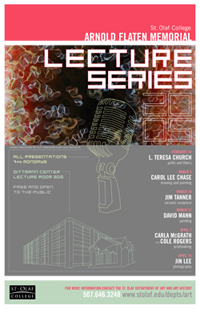Poster for 2007 Arnold Flaten Memorial Lecture Series.