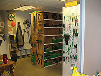 Tool Checkout Room, Center for Art and Dance