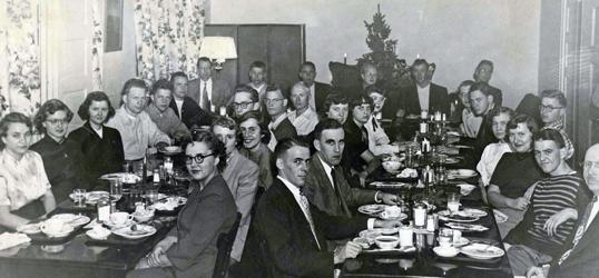 bio club christmas dinner