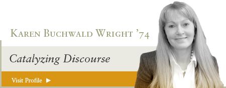 Karen Buchwald Wright '74