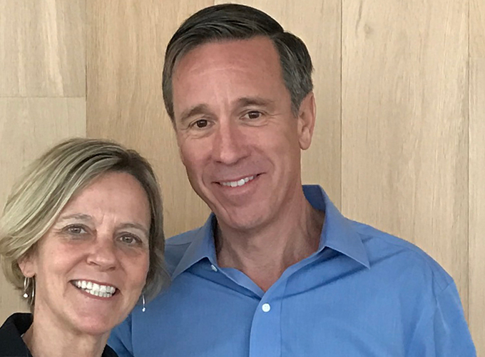 Ruth Christenson Sorenson '81 and Arne Sorenson