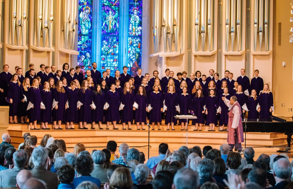 St. Olaf Choir in Boe Chapel