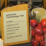 Sign: Welcome to Technology Fair