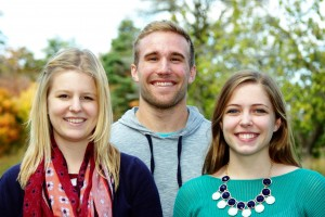 CIR Fellows: Kiegan Rice, Marc Richards, Emily Berry
