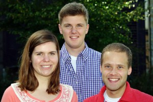 CIR Fellows: Kendra Johnson-Tesch, Jack Werner, Adrian Rossing