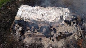 Lamb Roast 4.30.16 Charcoal