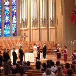 Wedding in Boe Chapel