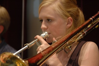 music camp trombone