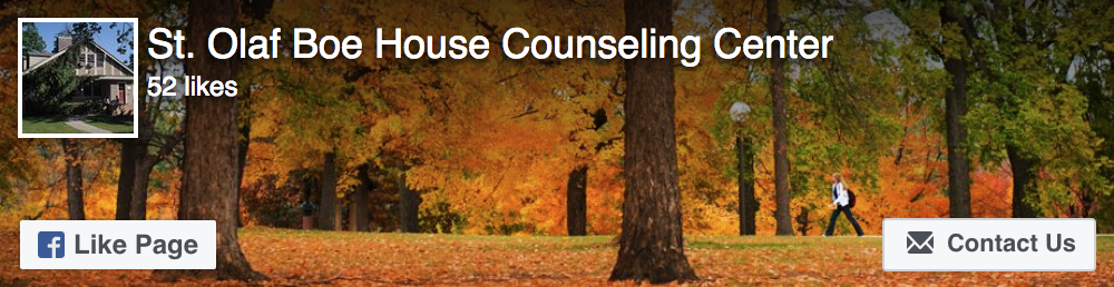 St. Olaf Boe House Counseling Center Facebook Page