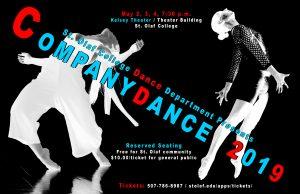 Companydance Concert 2019 Poster