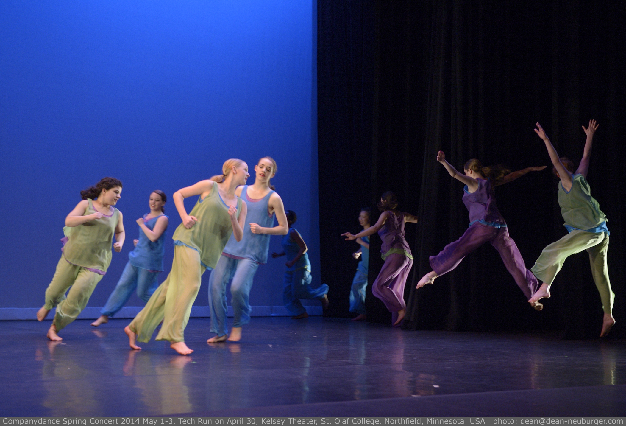 Companydance Spring Concert 2014 May 1-3, Tech Run on April 30,