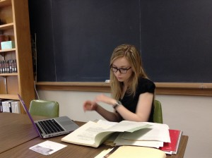 Nora Uhrich – CURI student researcher