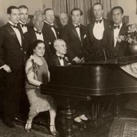 Ravel at the piano