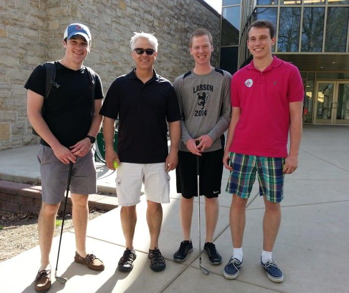 Casey Mulligans: Chris Flicek, Paul Wojick, Evan Lebo, and Elliot Knuths