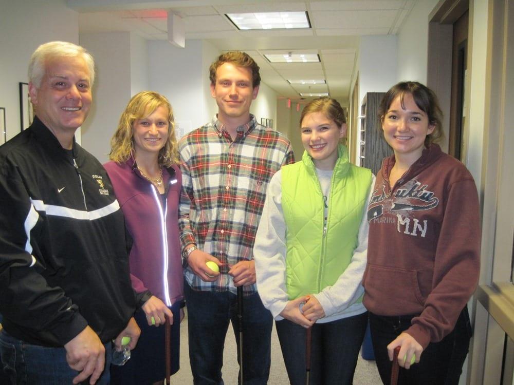 Team Wojick – Paul Wojick, Abigail Schnaith, Elliot Knuths, Heather Wolf, and Sarah Rippey