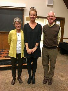 Ramona Ausubel with Mark and Sabina Gilbert.