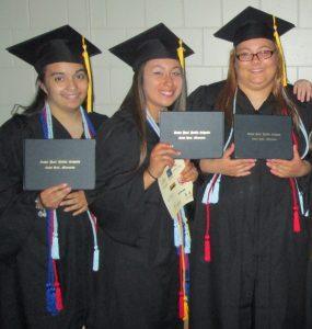 Leteya Dilla, Ariana Rivera, Desiree Peterson