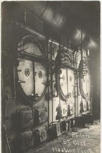 original boilers, 1914
