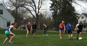 Fussball spielen 2016