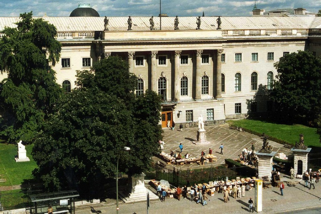 Main Building, Humboldt University