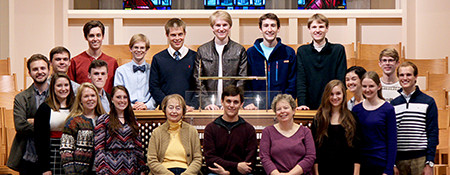 Organ and Church Music Students