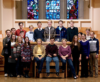 St. Olaf organ and church music students