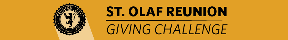 St. Olaf Reunion Giving Challenge
