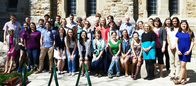 History students and faculty