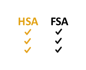 HSA vs FSA icon
