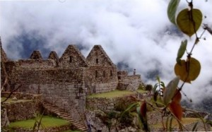 """Machu Picchu out of the Mist"""