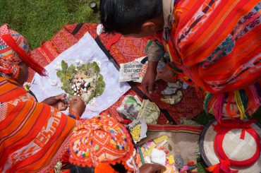 Offering to Pachamama