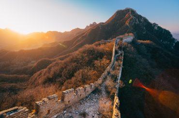 Jiankou Great Wall at Sunrise (箭扣日出)
