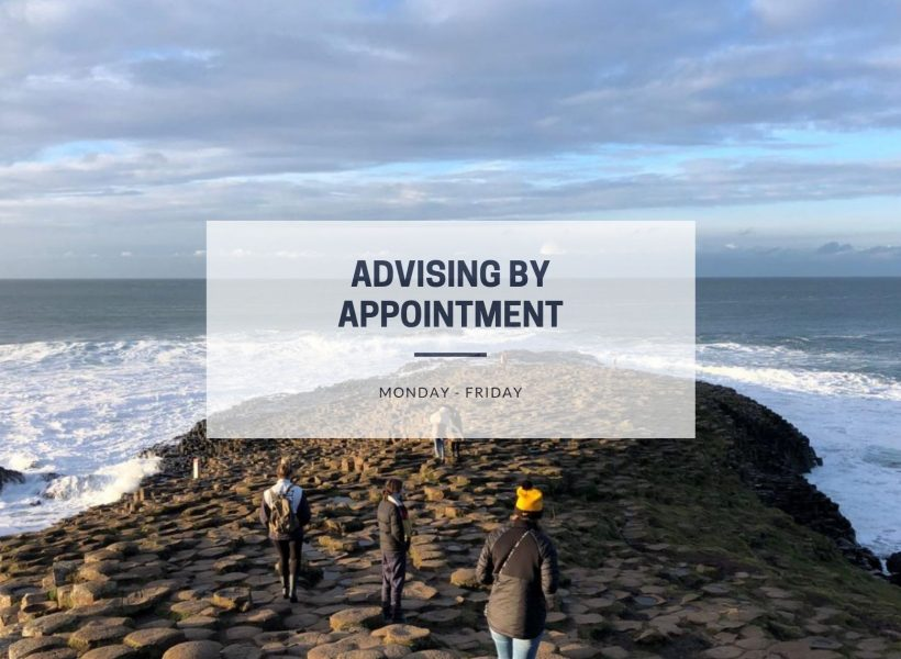 Advising by Appointment