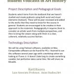 Student Vodcasts