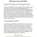Open Access of a Chinese Sacred Site