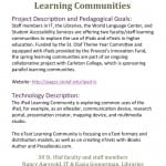 iPad & eText Learning Communities