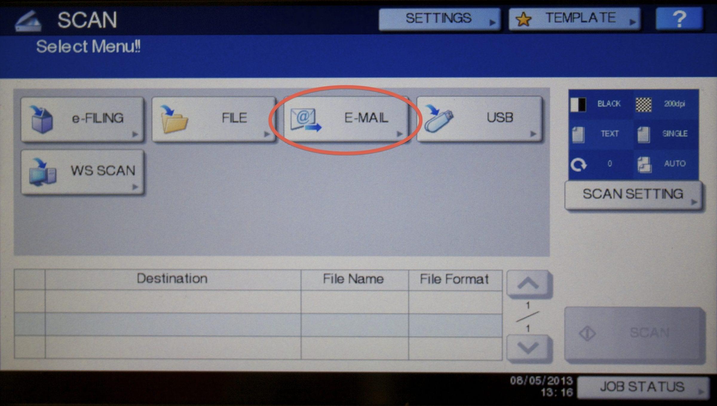 how do you rotate a scanned pdf file