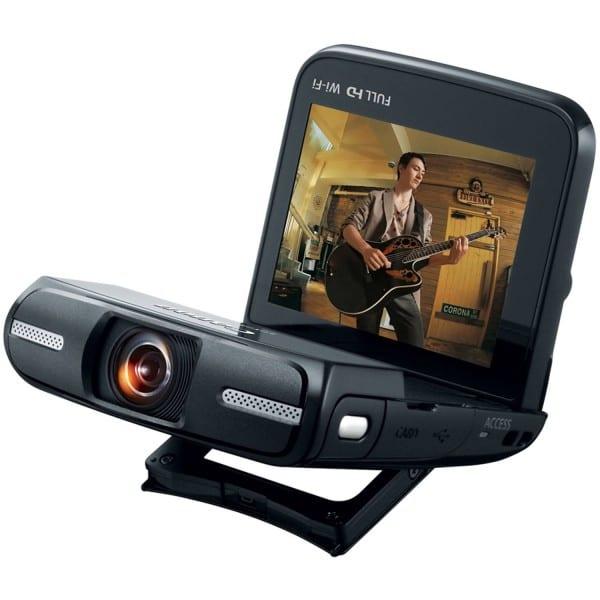 Canon Vixia Mini (Wide angle video)