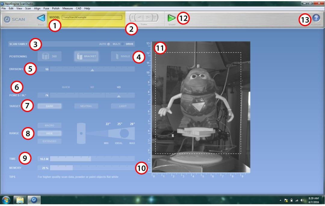 NextEngine Scanning Screen