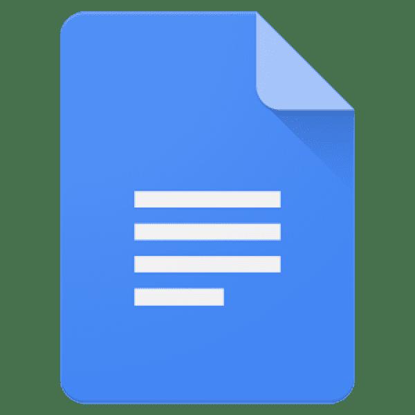 Google Docs icon.