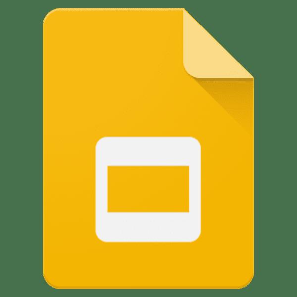 Google Slides icon.