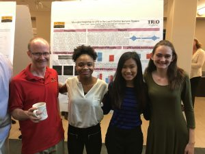 Dr. Kevin Crisp with his 2017 summer research team.