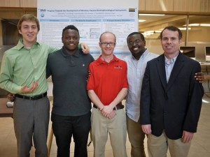 Mentor Kevin Crisp and his Research Team 2013