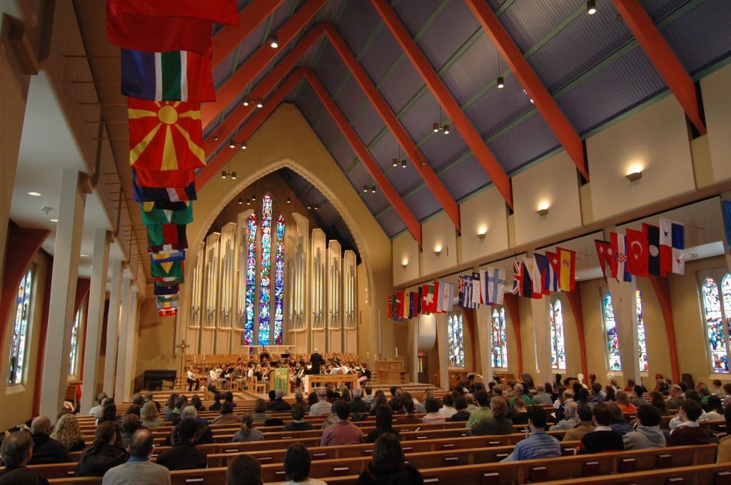 Boe Chapel Service