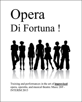 Opera di Fortuna website poster