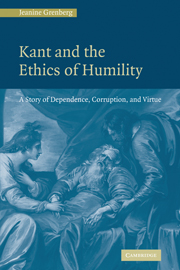 Kant and the Ethics of Humility: A Story of Dependence, Corruption, and Virtue Published February 2010