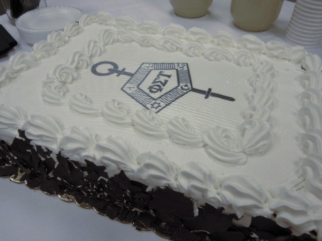 Phi Sigma Tau Cake