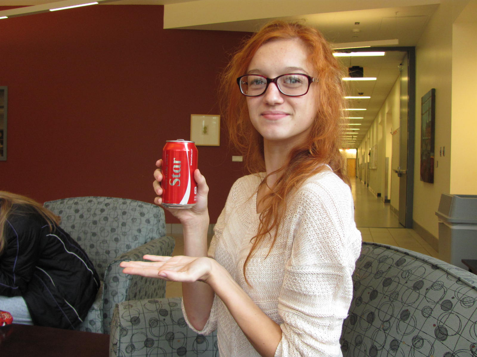 Have a Coke with a star physics student